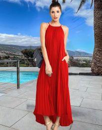Φόρεμα - κώδ. 6999 - κόκκινο