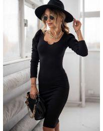 Φόρεμα - κώδ. 11548 - μαύρο