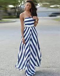 Φόρεμα - κώδ. 7144 - 1 - λευκό