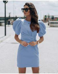 Φόρεμα - κώδ. 9438 - γαλάζιο