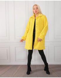 Παλτό - κώδ. 1615 - κίτρινο