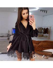 Φόρεμα - κώδ. 3738 - μαύρο