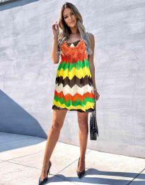 Φόρεμα - κώδ. 0969 - 1 - πολύχρωμο