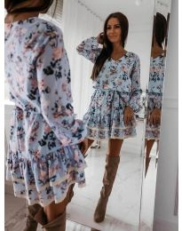 Φόρεμα - κώδ. 101 - μπλε