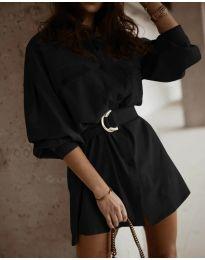 Φόρεμα - κώδ. 6461 - μαύρο