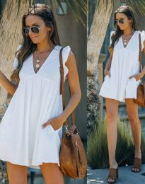 Φόρεμα - κώδ. 7141 - λευκό