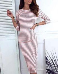 Φόρεμα - κώδ. 4081 - πούδρα
