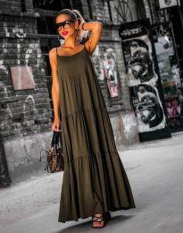 Φόρεμα - κώδ. 2301 - 3 - λαδί