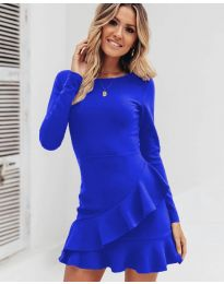 Φόρεμα - κώδ. 2909 - μπλε