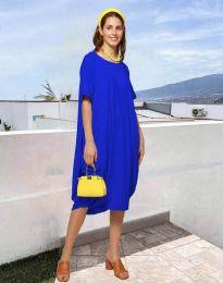 Φόρεμα - κώδ. 5554 - μπλε