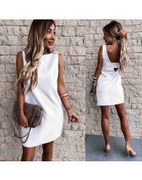 Φόρεμα - κώδ. 1156 - λευκό