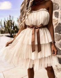 Φόρεμα - κώδ. 3065 -  σαμπανιζέ