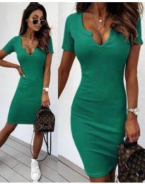 Φόρεμα - κώδ. 8829 - πράσινο
