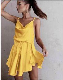 Φόρεμα - κώδ. 660 - κίτρινο