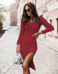 Φόρεμα - κώδ. 6593 - κόκκινο