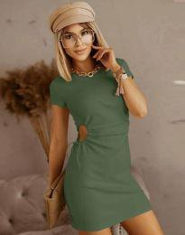 Φόρεμα - κώδ. 8556 - λαδί