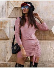 Φόρεμα - κώδ. 9545 - ροζ