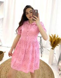Φόρεμα - κώδ. 0517 - 2 - ροζ