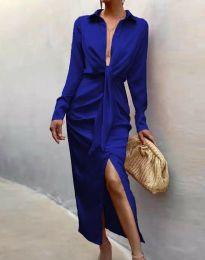 Φόρεμα - κώδ. 6459 - μπλε