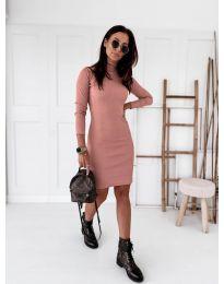 Φόρεμα - κώδ. 5696 - ροζ