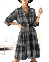 Φόρεμα - κώδ. 6842 - μαύρο