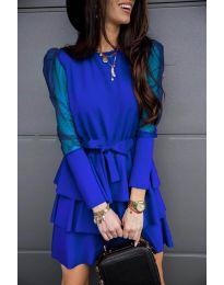 Φόρεμα - κώδ. 8384 - σκούρο μπλε