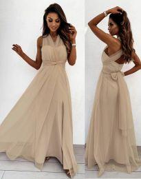 Φόρεμα - κώδ. 2007 - μπεζ