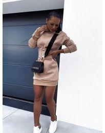 Φόρεμα - κώδ. 165 - μπεζ