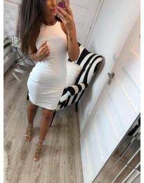 Φόρεμα - κώδ. 2623 - λευκό