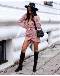 Φόρεμα - κώδ. 395 - ροζ