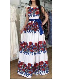 Φόρεμα - κώδ. 884 - λευκό