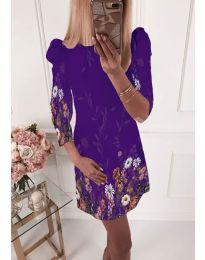 Φόρεμα - κώδ. 240 - σκούρο μωβ