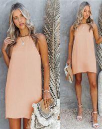 Φόρεμα - κώδ. 2169 - ανοιχτό ροζ