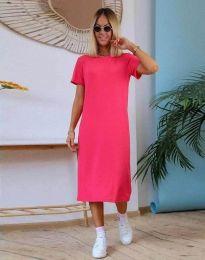 Φόρεμα - κώδ. 81800 - 2 - φουξια