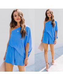 Φόρεμα - κώδ. 9933 - μπλε
