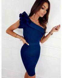 Φόρεμα - κώδ. 2049 - 4 - μπλε