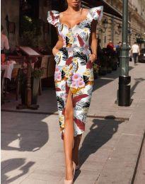 Φόρεμα - κώδ. 4469 - πολύχρωμο