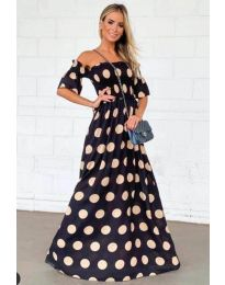Φόρεμα - κώδ. 1140 - μαύρο