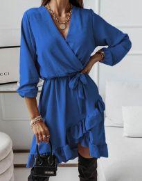 Φόρεμα - κώδ. 5371 - μπλε