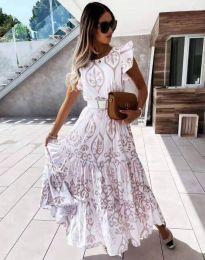 Φόρεμα - κώδ. 1458 - μπεζ