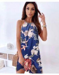 Φόρεμα - κώδ. 7027 - μπλε