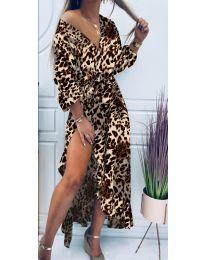 Φόρεμα - κώδ. 5454 - 6 - πολύχρωμο