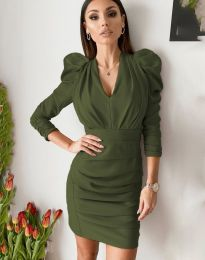 Φόρεμα - κώδ. 7937 - πράσινο