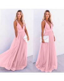 Φόρεμα - κώδ. 5587 - ροζ
