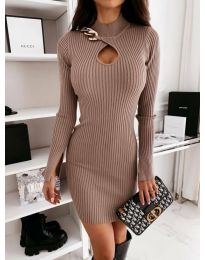 Φόρεμα - κώδ. 0771 - μπεζ