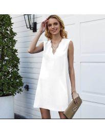 Φόρεμα - κώδ. 1429 - λευκό