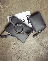 Τσάντα - κώδ. B292 - σκούρο γκρι