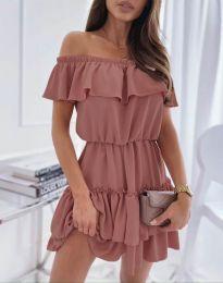 Φόρεμα - κώδ. 6777 - ροζ