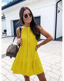 Φόρεμα - κώδ. 632 - κίτρινο
