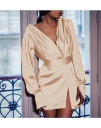 Φόρεμα - κώδ. 492 - μπεζ